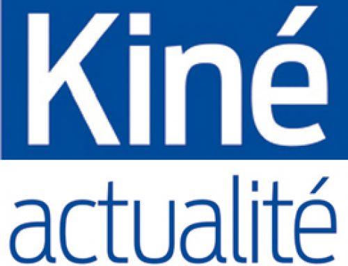 Article sur Kiné Actualités du 3/11/16